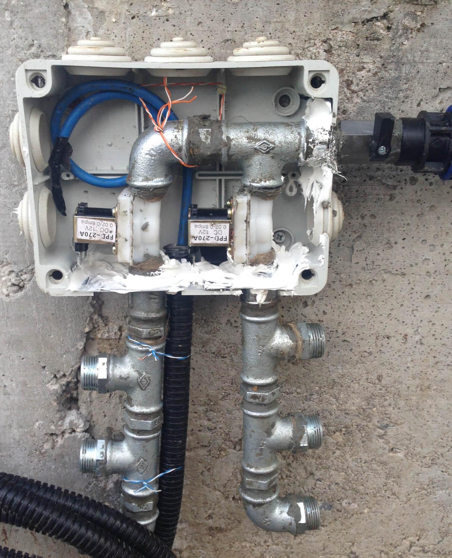 Rpirrigate sistema di irrigazione for Elettrovalvole per irrigazione
