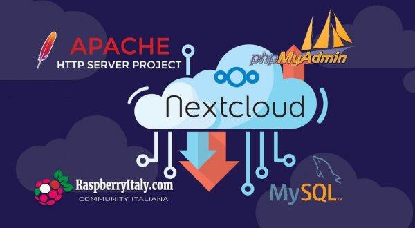 Apache 2 + Mysql + Phpmyadmin + Nextcloud