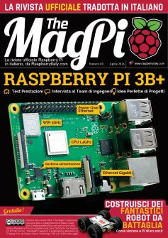 TheMagPi68-copertina Pi 3B+