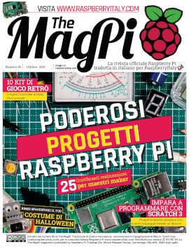 The MagPi 86 - cover