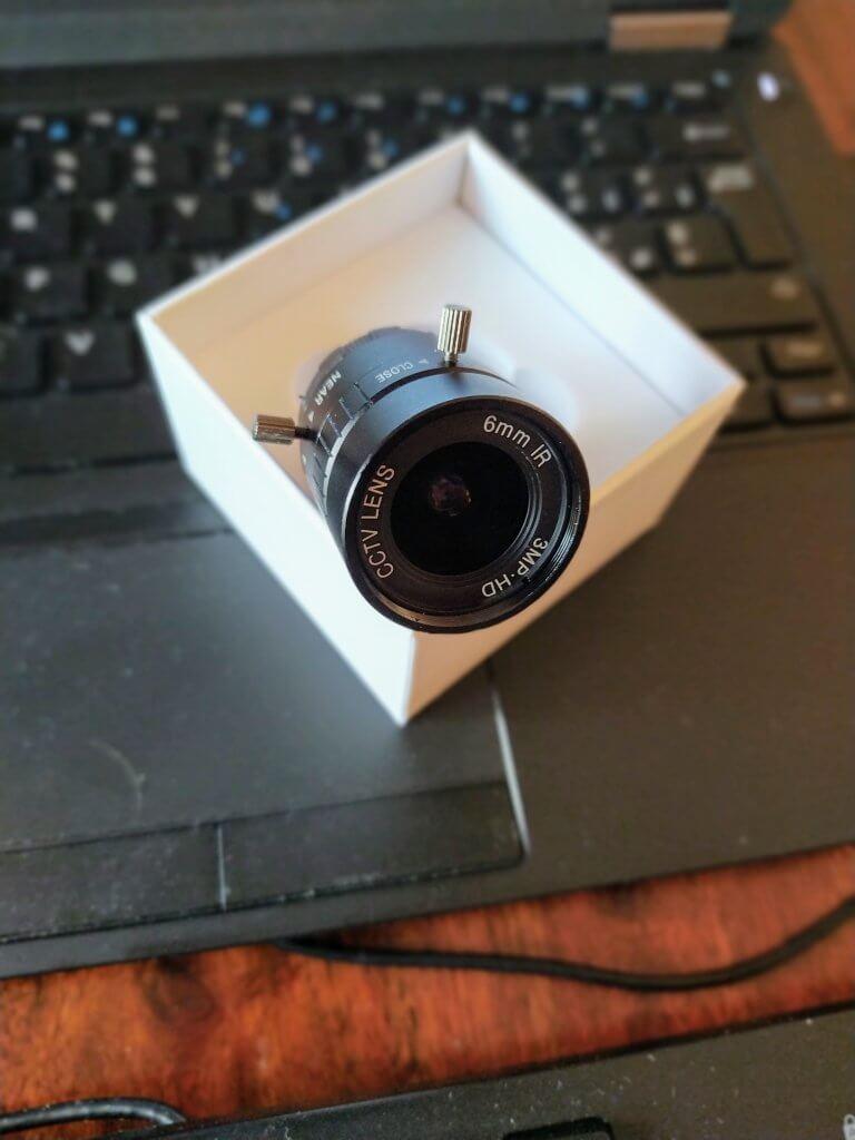 Obbiettivo da 6mm