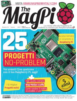 Magpi96 cover