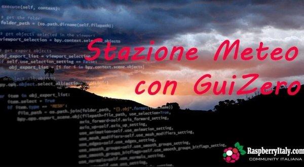 Stazione Meteo con GuiZero