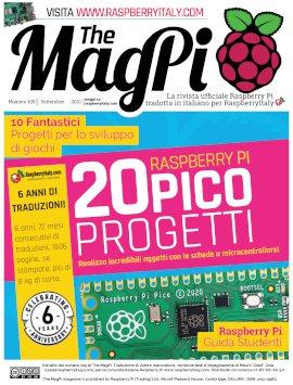 MagPi 109 copertina